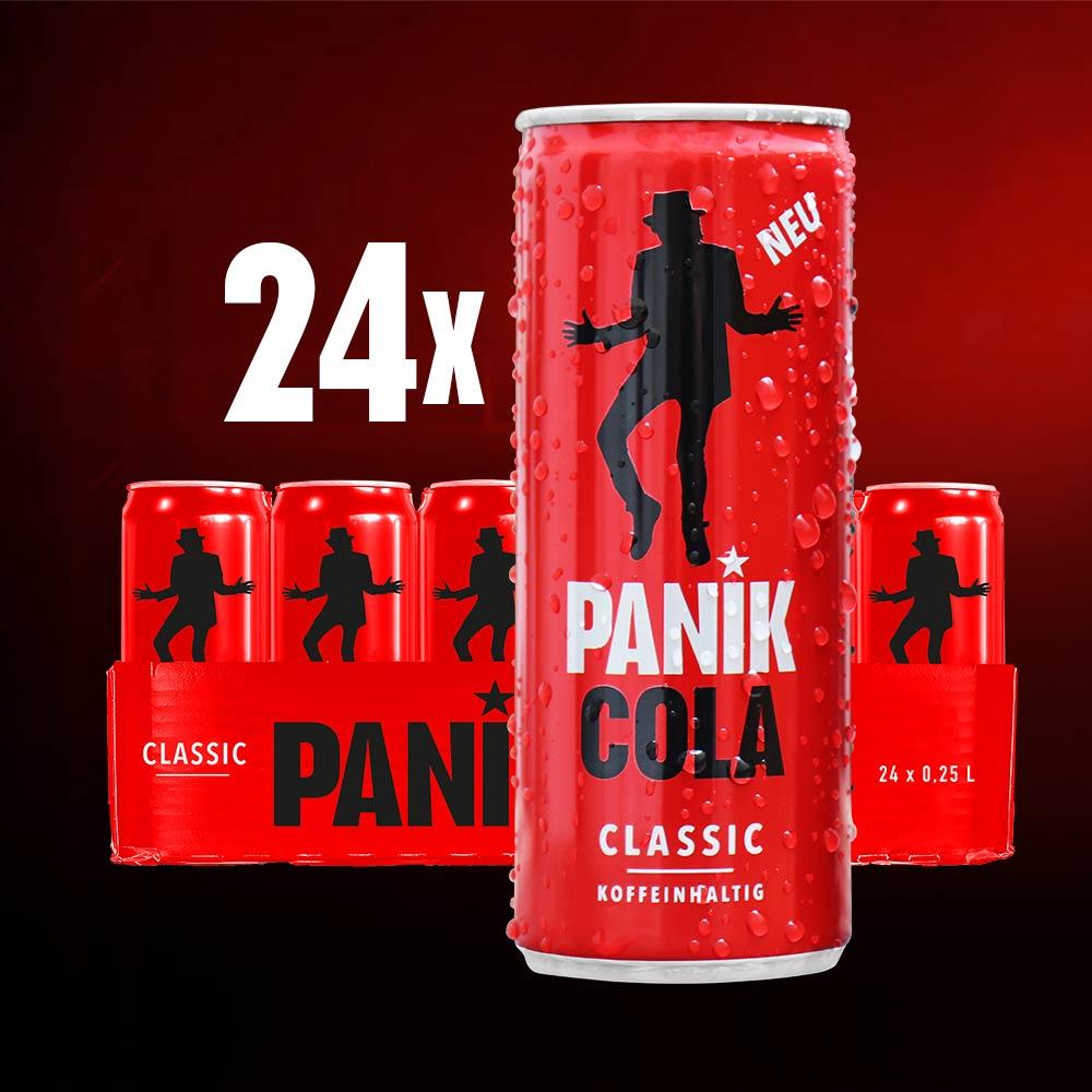 PANIK COLA Classic kaufen | PANIK COLA Zero | Inspiriert von Udo Lindenberg