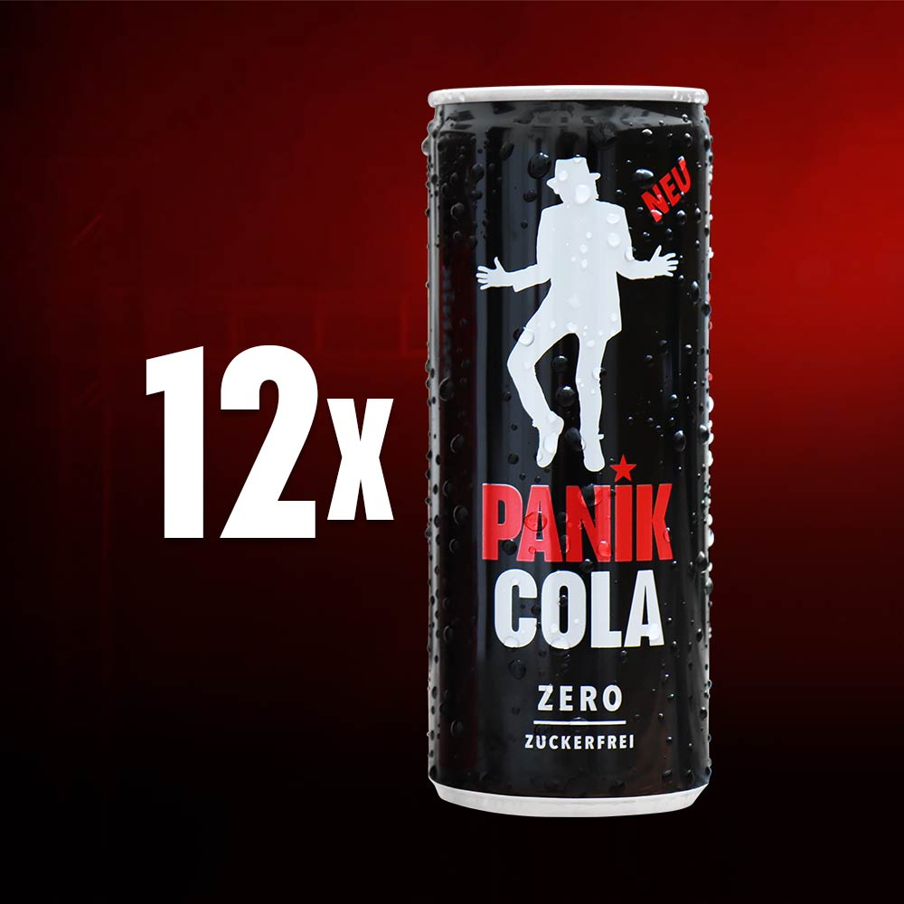 PANIK COLA Zero kaufen   PANIK COLA Zero   Inspiriert von Udo Lindenberg
