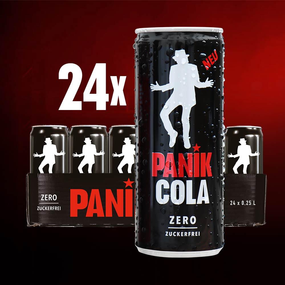PANIK COLA Zero kaufen | PANIK COLA Zero | Inspiriert von Udo Lindenberg